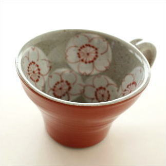 スープカップ 陶器 和風 日本製 美濃焼 おしゃれ かわいい マグカップ ティーカップ カフェオレボウル コーヒーカップ さくらスープカップ A [msg7964]