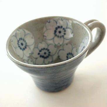 スープカップ 陶器 和風 日本製 美濃焼 おしゃれ かわいい マグカップ ティーカップ カフェオレボウル コーヒーカップ さくらスープカップ B [msg7966]