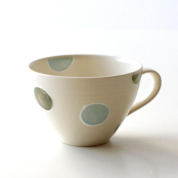 スープカップ おしゃれ 磁器 かわいい マグカップ カフェ 和モダン 日本製 有田焼 焼き物 しゃぼん玉スープマグ [msg9683]