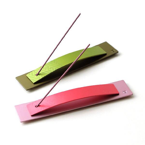 インセンスホルダー お香立て おしゃれ 日本製 和風 モダン かわいい シンプル スティックタイプ インセンススタンド アルミのインセンススタンド2カラー [msn7496]