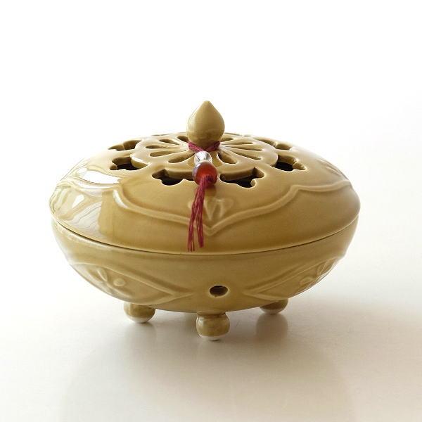 陶器の蚊遣り イエローアジア [mtl2702]
