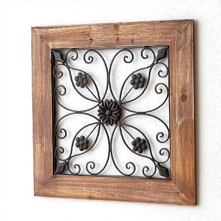 壁飾り アイアン おしゃれ アンティーク 木製 アートパネル アートフレーム パネル ウォールアート 壁掛け インテリア モダン レトロ ウッドフレーム フローラル