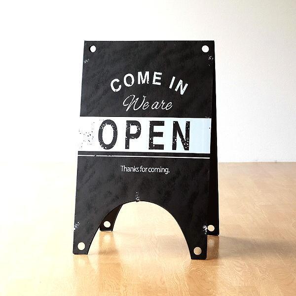 サインボード 看板 オープン クローズ プレート サインスタンド 店舗 カフェ 玄関 OPEN CLOSED 開店 閉店 おしゃれ デザイン オープンクローズサインボード [mty4240]