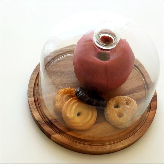 アカシアウッドのケーキドームS