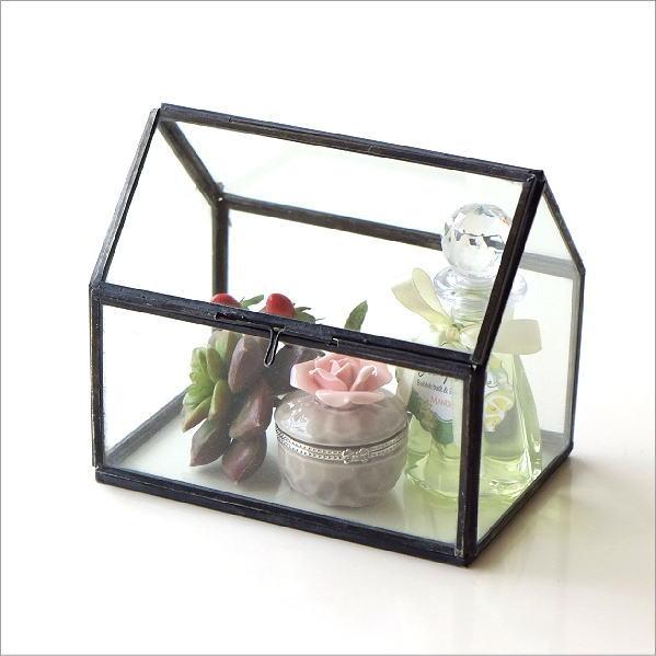 アイアンとガラスのテラリウム ハウス [ras1716]