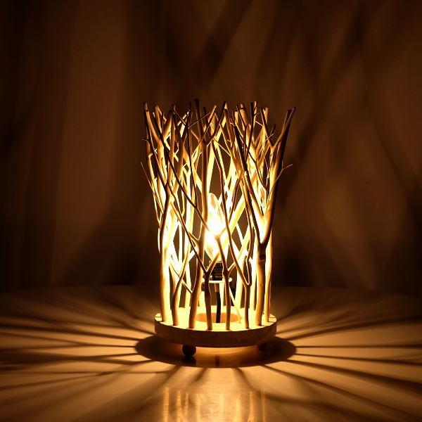 インテリアランプ 照明 卓上 枝 自然木 おしゃれ 照明スタンド ナチュラルブランチランプ [ras1896]