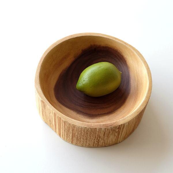 ボウル 木製 小物入れ シンプル アカシア ナチュラルウッドボウル [ras4721]
