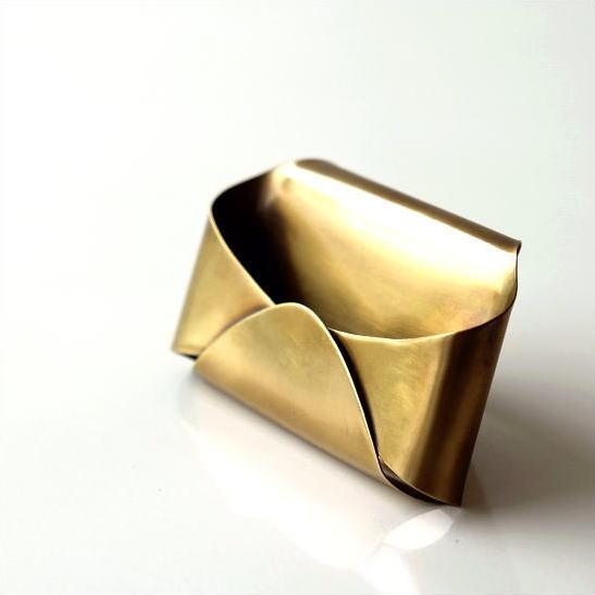 真鍮のカードホルダー