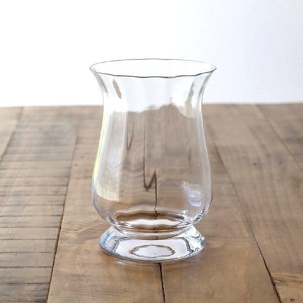 花瓶 ガラス フラワーベース おしゃれ クリア 透明 シンプル ガラスベース 花器 Duskポットベース [sik0939]