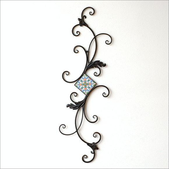 壁飾り アイアン 壁掛け インテリア ウォールデコ 壁面 装飾 飾り ウォールアート おしゃれ アンティーク ウォールディスプレイ アイアンの壁飾り モザイク