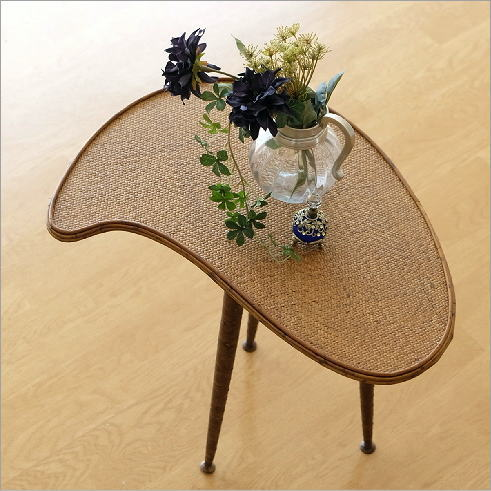 ラタンパレットサイドテーブル