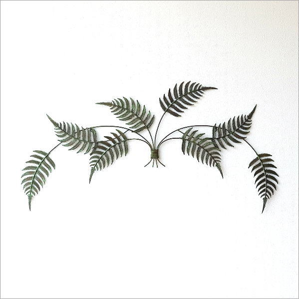 アイアンの壁飾り ファーン [sik6309]