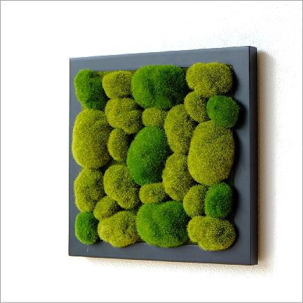 壁飾り 観葉植物 壁掛けインテリア ディスプレイ リビング 光触媒 壁面 オーナメント パネル ウォールデコレーショングリーン C