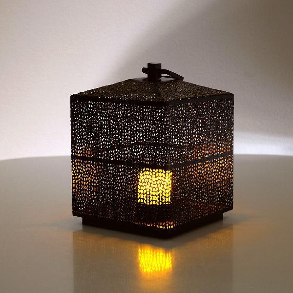 LED付きアイアンビッグランタン [spc3097]