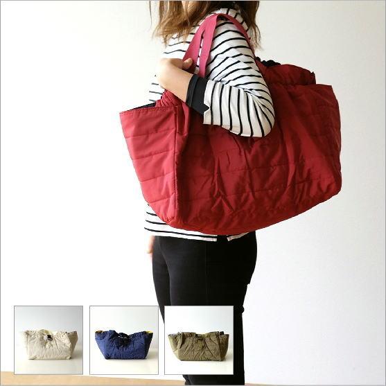リバーシブルキルトバッグ 4カラー