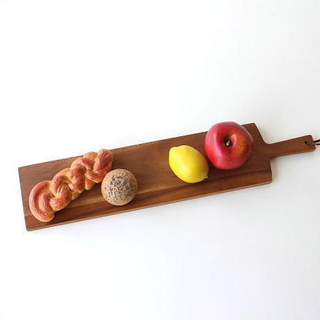 カッティングボード 木製 まな板 パン おしゃれ 天然木 上質 アカシア ロングカッティングボード [spc6537]