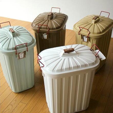 ゴミ箱 ごみ箱 おしゃれ キッチン ふた付き 大型 60リットル サニタリー 屋外 インテリア パステルカラーのダストボックス [spc7099]