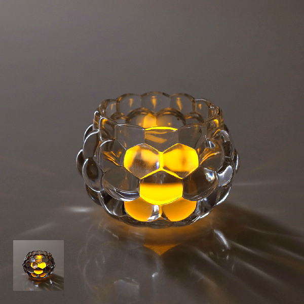 LED付きキャンドルホルダー2カラー [spc9235]