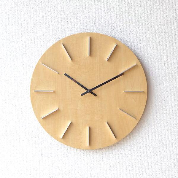 壁掛け時計 ナチュラル [spc9293]