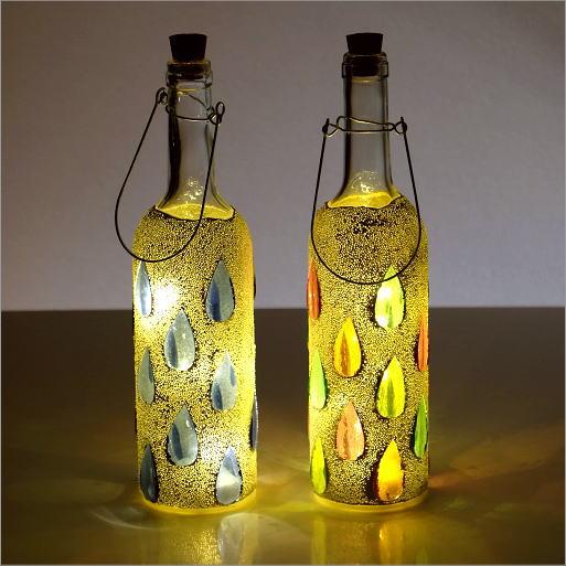 LEDモザイクボトル ドロップ2カラー