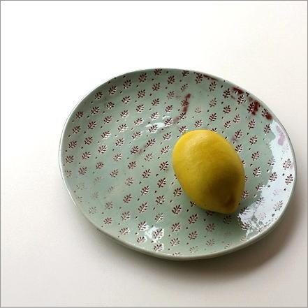 プレート 印伝丸皿 [stg6159]