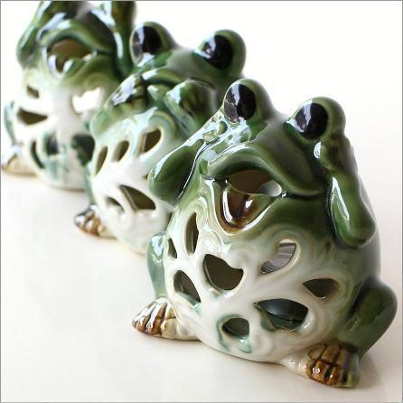 カエルのキャンドルポット 3セット [swa1560]