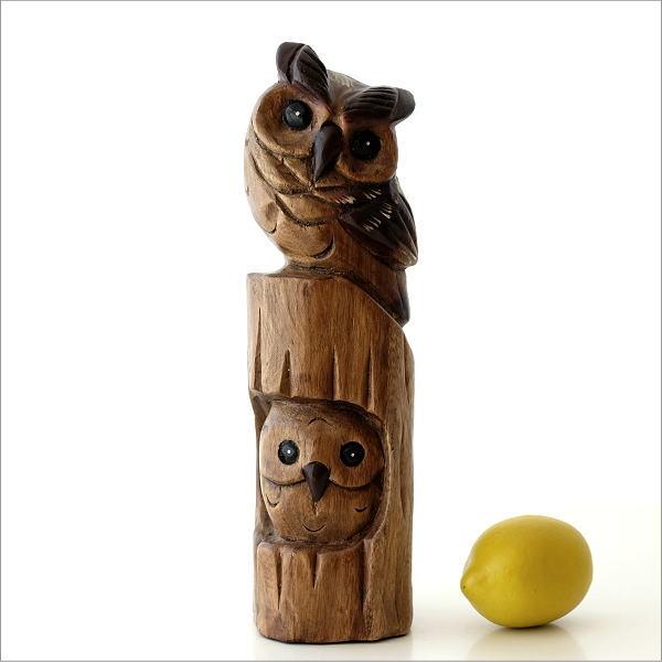 木彫フクロウA