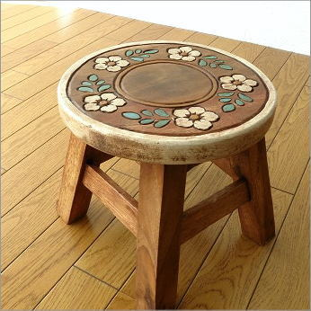 子供椅子 フラワーサークル [tom9520]