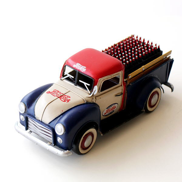 ブリキのおもちゃ 置物 置き物 インテリアオブジェ アンティーク レトロ 雑貨 American Nostalgia トラック 【送料無料】 [toy3139]