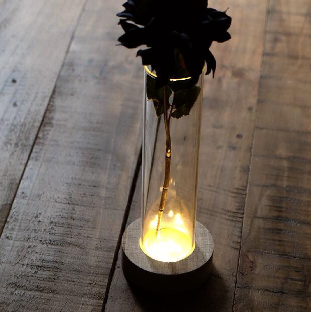 LED付きガラススタンドベース B [toy4283]