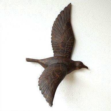 壁飾り 壁掛けインテリア 鳥 雑貨 ウォールアート ウォールデコ バード壁飾り A