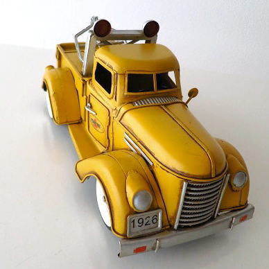ブリキのおもちゃ 置物 インテリアオブジェ アンティーク レトロ 雑貨 AmericanNostalgia トラック 【送料無料】 [toy72170]