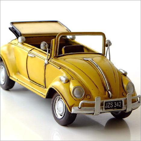 ブリキのおもちゃ 置物 置き物 インテリアオブジェ アンティーク レトロ 雑貨 American Nostalgia オープンビートル [toy77178]
