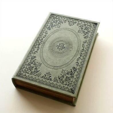 本型小物入れ ブック型 ボックス 洋書 収納 ブックボックス レトロC [toy8284]