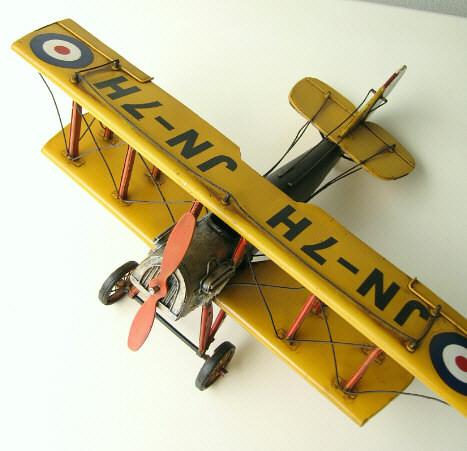 ブリキのおもちゃ 置物 インテリアオブジェ アンティーク レトロ 雑貨 American Nostalgia 飛行機 【送料無料】 [toy83139]