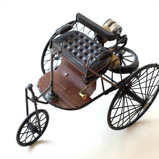 ブリキのおもちゃ 置物 インテリアオブジェ アンティーク レトロ 雑貨 AmericanNostalgia モーターワゴン [toy84551]