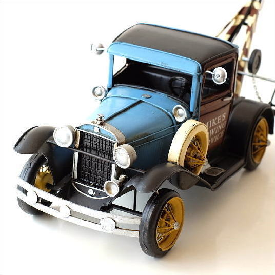 ブリキのおもちゃ 置物 インテリアオブジェ アンティーク レトロ 雑貨 AmericanNostalgia トラック 【送料無料】 [toy91555]