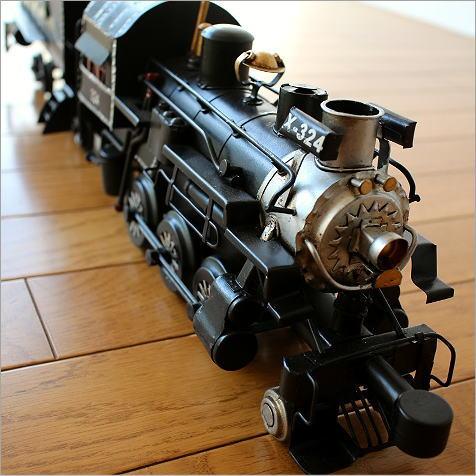 ブリキのおもちゃ 置物 置き物 インテリアオブジェ アンティーク レトロ 雑貨 American Nostalgia 機関車【送料無料】 [toy94126]