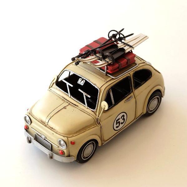 ブリキのおもちゃ 置物 置き物 インテリアオブジェ アンティーク レトロ 雑貨 American Nostalgia キャリアカー [toy9454]