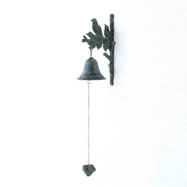 ベル 呼び鈴 ガーデン 玄関 おしゃれ ガーデンベル ガーデニング 吊り下げ アクセサリー 小鳥 アイアンのガーデンベル A [toy9996]