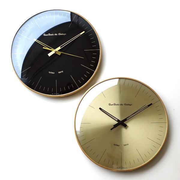 壁掛け時計 掛け時計 おしゃれ 音がしない 静音 かっこいい シンプル モダン スイープムーブメント ブラック ゴールド レトロデザインウォールクロック 2カラー [tsc2234]