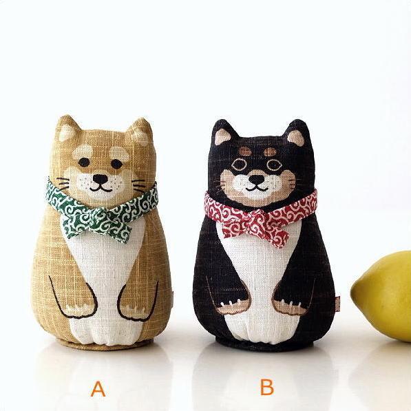 麻人形 柴犬2タイプ [wlj7479]