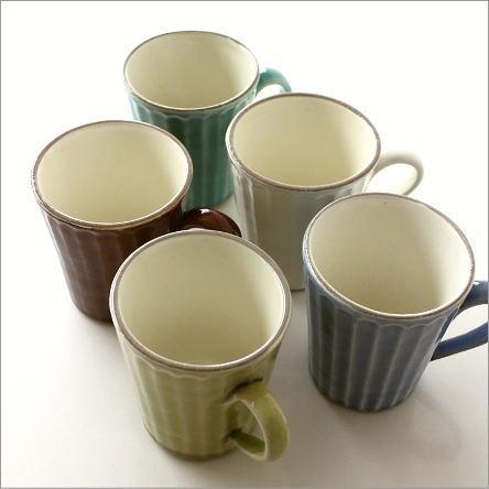 マグカップ 陶器 おしゃれ 益子焼 ストレートマグ 5カラー