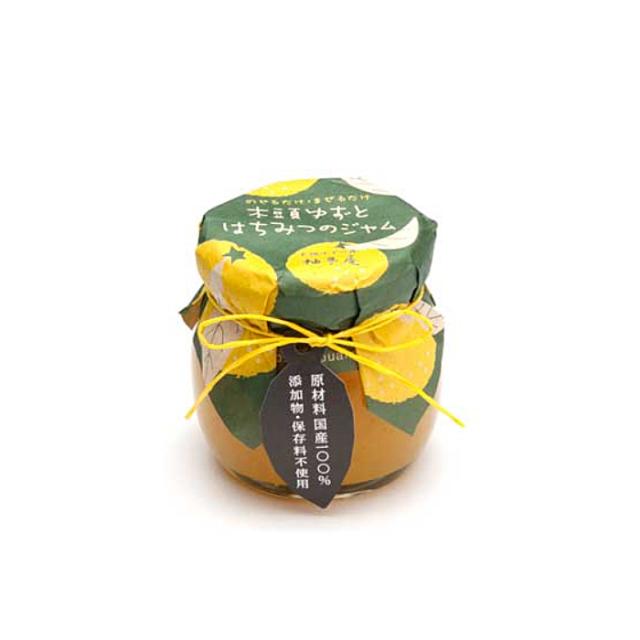 木頭柚子とはちみつジャム