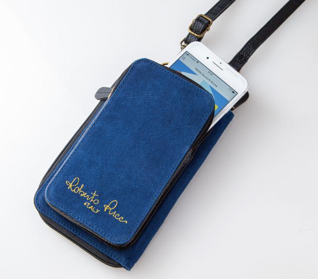 3WAY・藍染10ポケットウォレット