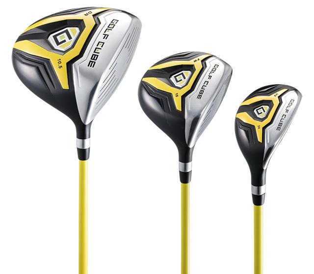 ゴルフキューブ 11本組バッグ付セット