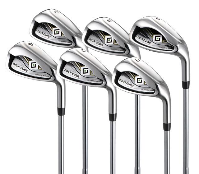 ゴルフキューブ 12本組バッグ付セット