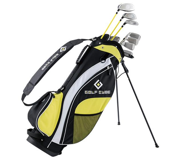 ゴルフキューブ 15本組バッグ付セット