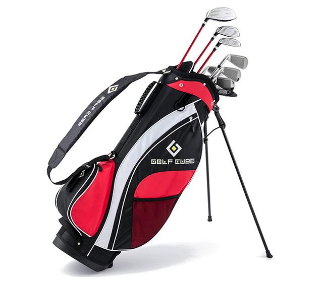 ゴルフキューブ 17本組バッグ付セット