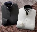 <フランコ・コレツィオーニ>二重変化衿ドレスシャツ